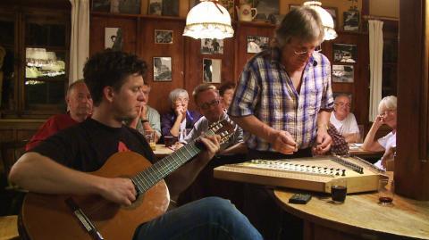Stubenmusik auf der Reintalangerhütte