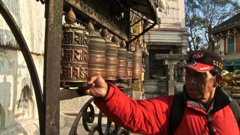 Sherpa Gyalzen war 1953 Träger bei Edmund Hillary