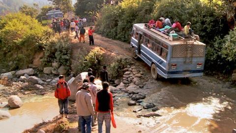 Unterwegs auf dem Everest-Treck