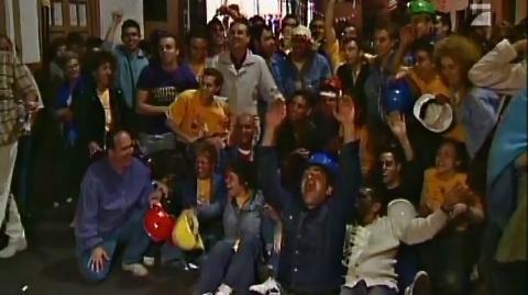 Siegesfeier: Straße del Sol gewinnt den Wettkampf