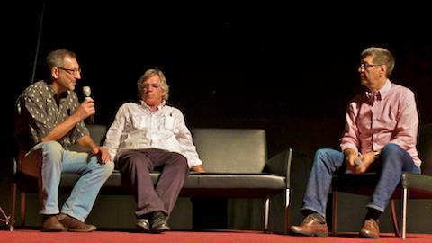 Filmfest St. Anton: Talkshow mit Charly Wehrle und Stefan König