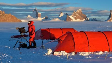 Arte-Dreh in der Antarktis – Foto: Michael Martin