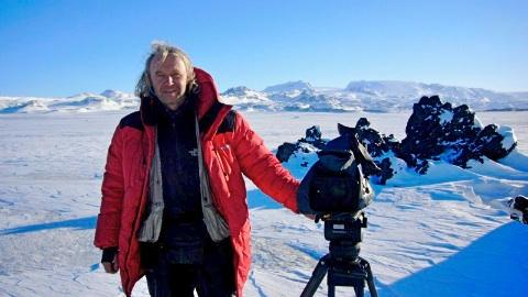 Dreharbeiten in Island - Foto: Michael Martin