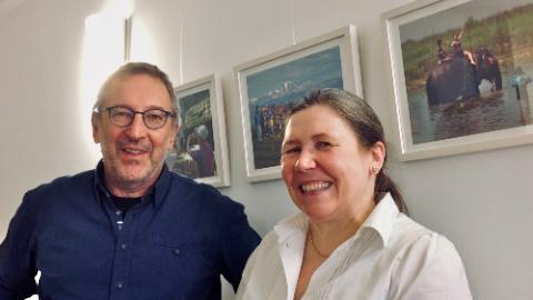 Fotoausstellung in der Zahnarztpraxis Anja Huber