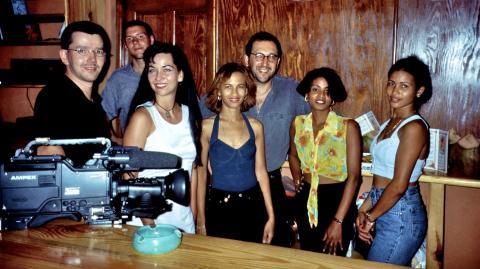 Dreharbeiten in der Dominikanischen Republik