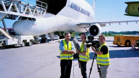 Unterwegs mit der Airbus-Beluga